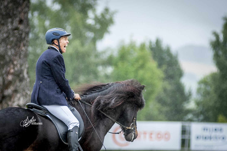 Unn och Hrafndynur Foto: Sofie Lahtinen Carlsson