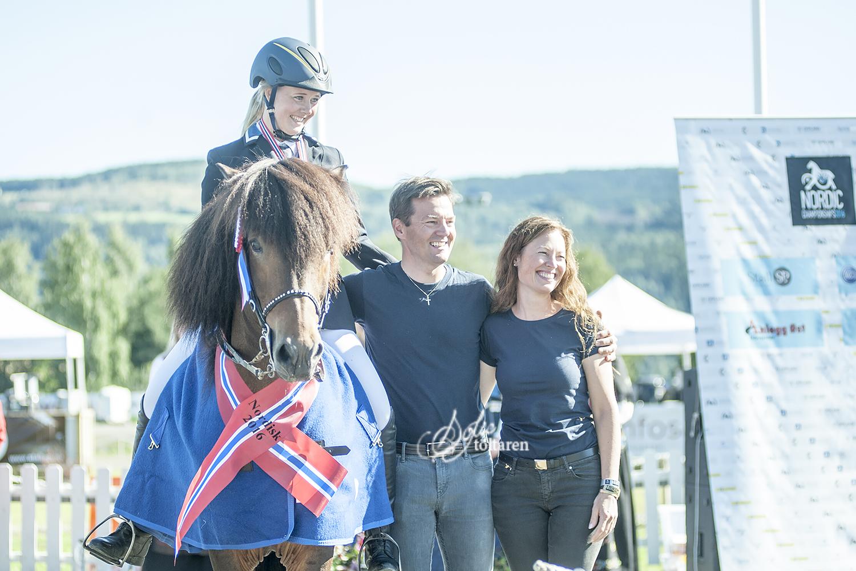 Häst, ryttare och uppfödare Foto: Sofie Lahtinen Carlsson