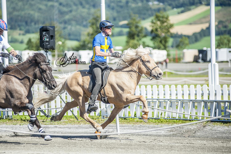 Fokus och fart! Thorvaldur och Thyrnir Foto: Sofie Lahtinen Carlsson