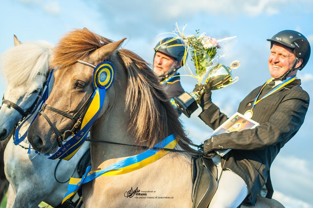 Magnus och Valsa, en knapp seger över Gummi och Sproti / foto: Sofie Lahtinen Carlsson www.toltaren.wordpress.com