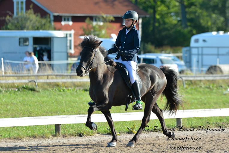 Även Moa Johansson med Thordis kvalade Foto: Zanna Hofvander