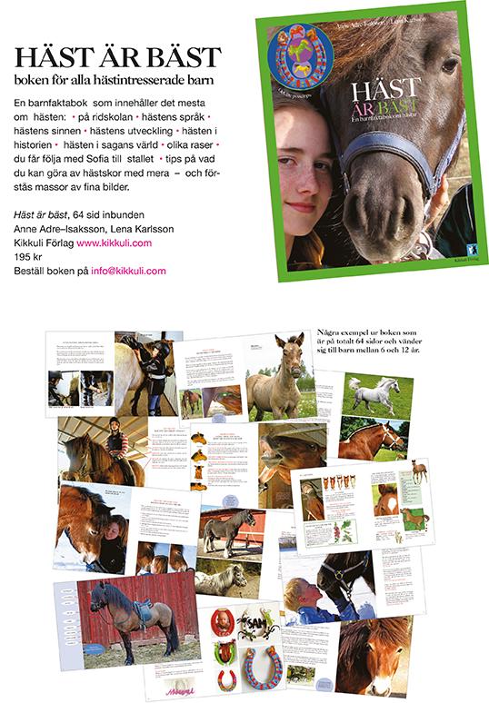 Boken Häst är bäst (Kikkuli förlag) 1e513e75e33cf
