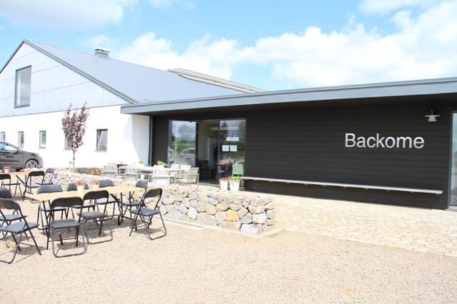 Backomes kafeteria där det serverades lunch varje dag Foto: Johanna Wingstrand