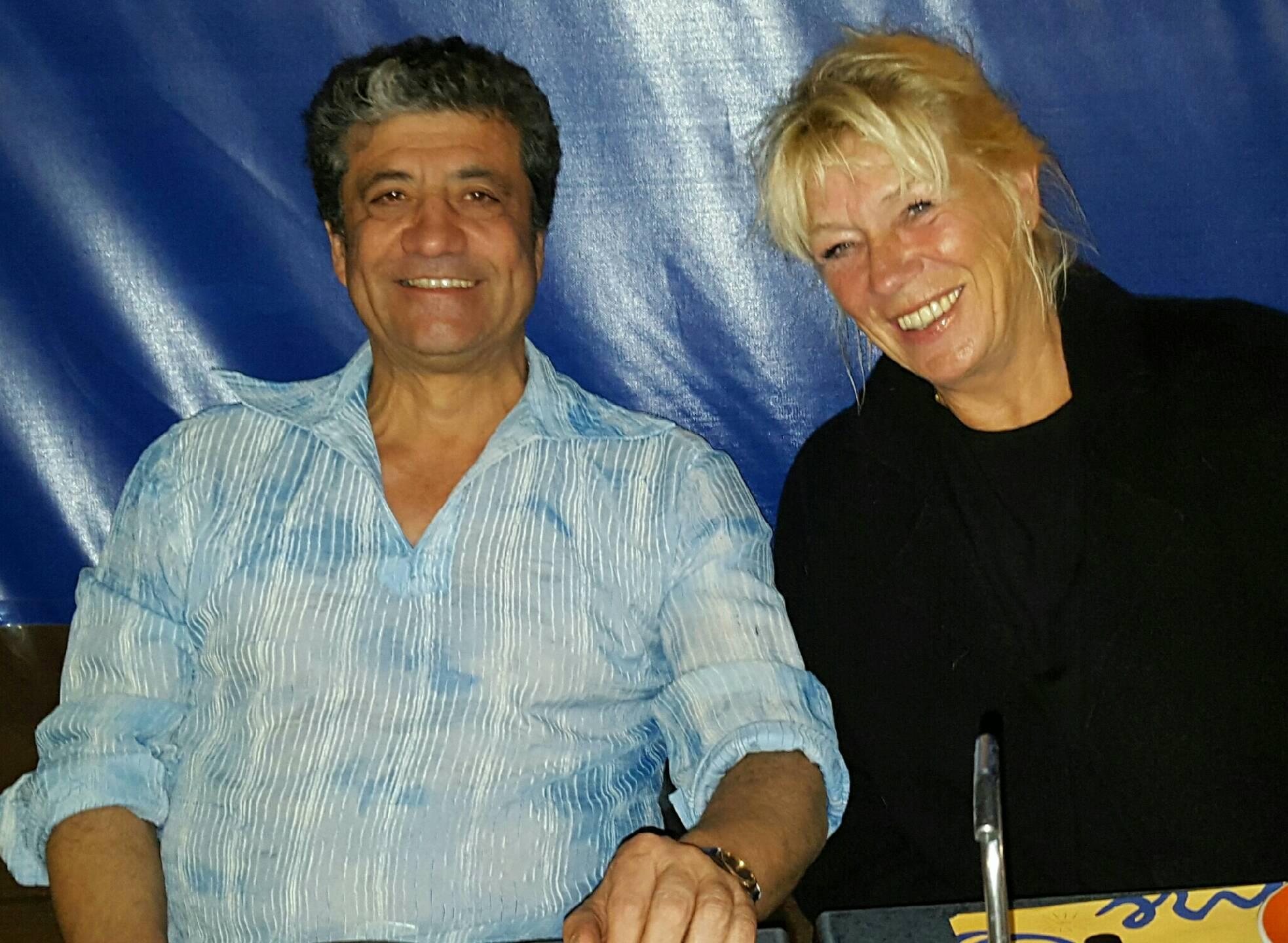 Ylva, här med sin man Eduardo Privat foto