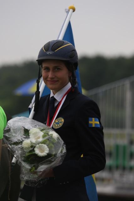 Annie Ivarsdottir - Nordisk Mästare Foto: Anette Alsterå/ishestnews.se