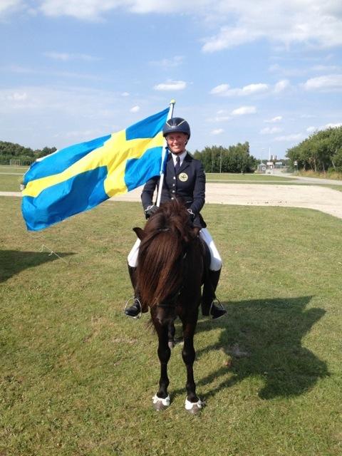 2014 vann Anna Stenbeck och Orri från Mörtö SM-guld i Tölt T1 och fyrgångskombination.