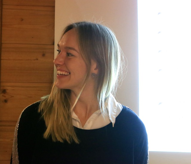 Charlotta Liedberg som höll föredraget