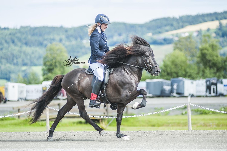 Nathalie och Tristan – vinnarna av B-finalen Foto: Sofie Lahtinen Carlsson