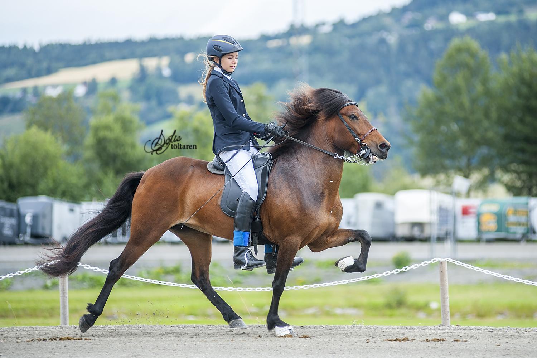 Rebecka Fritzell och Gunnhildur frá Reykjavik kom på fjärde plats Foto: Sofie Lahtinen Carlsson