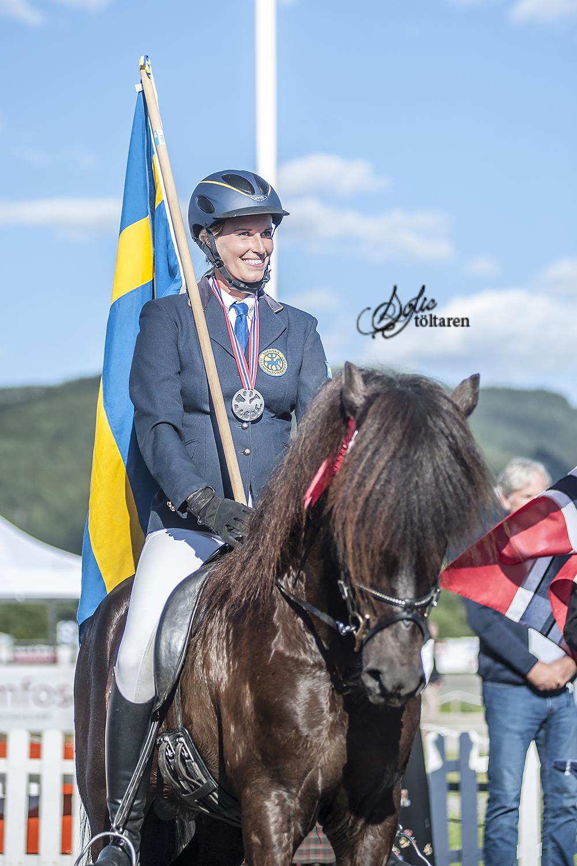 Josefin och Nói, från B-final till silverplats Foto: Josefin Lahtinen Carlsson