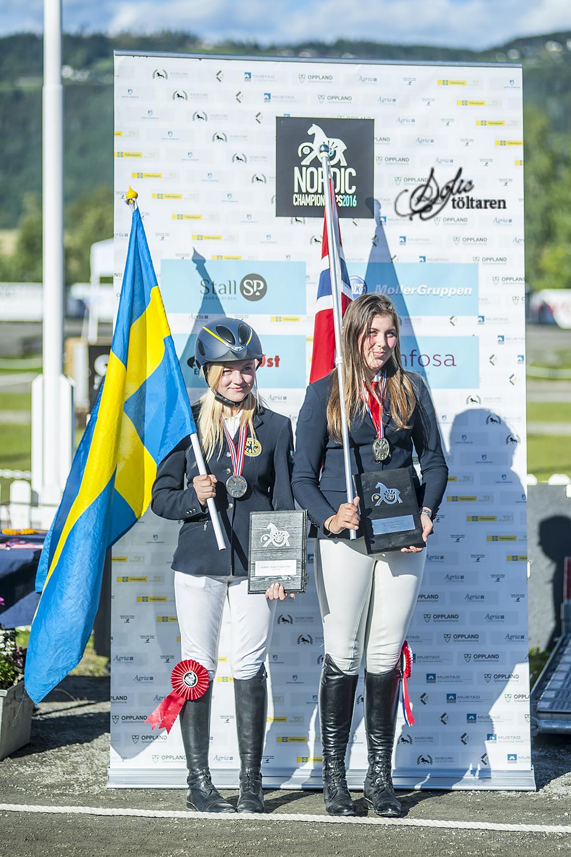 Tova tog silver! Foto: Sofie Lahtinen Carlsson