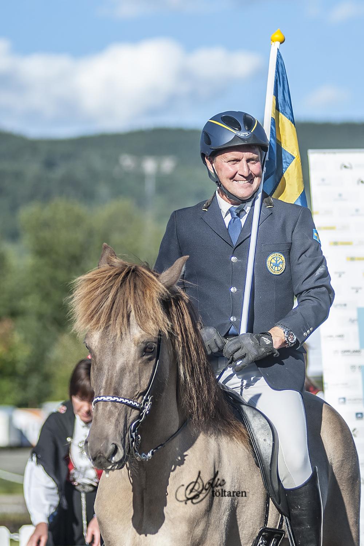 Magnús och Valsa! Vinnare av medaljen i femgångskombinationen Foto: Sofie Lahtinen Carlsson