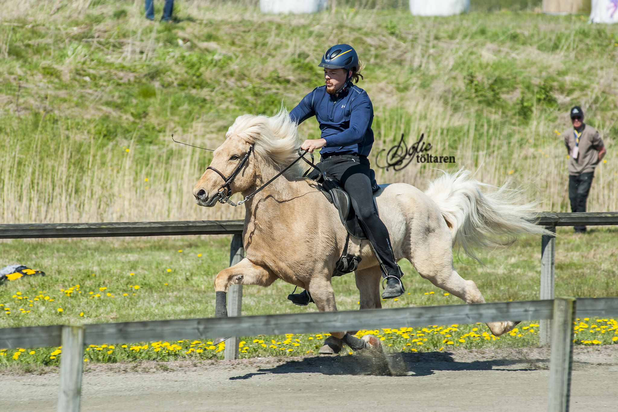På tredje plats Albin och Nitro! Foto: Sofie Lahtinen Carlsson