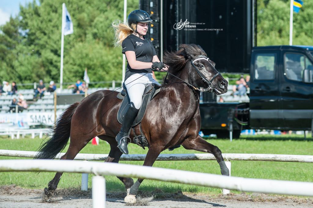 Tova och Hekla Jóna, Svenska Mästare i stilpass / foto: Sofie Lahtinen Carlsson, www.toltaren.wordpress.com