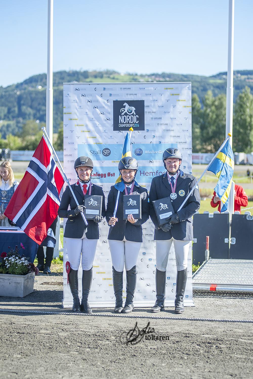 Medaljörerna! Foto: Sofie Lahtinen Carlsson