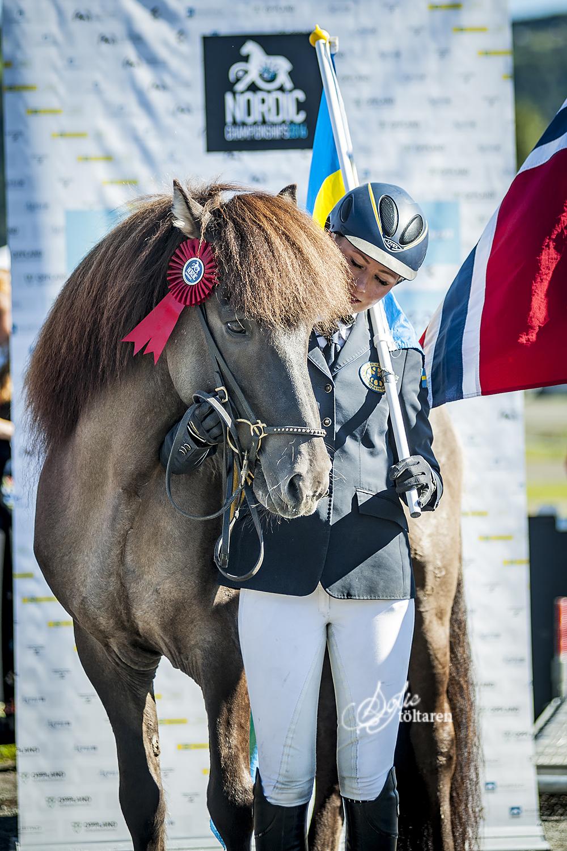 Silver till Filippa och Máni Foto: Sofie Lahtinen Carlsson