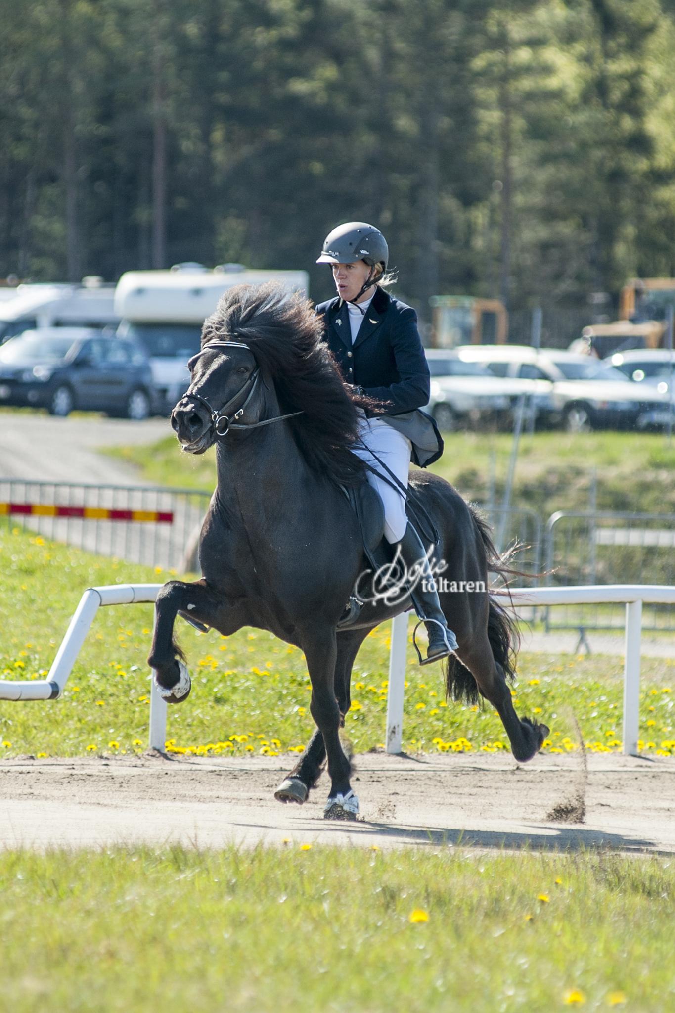 Linda och Sigurbodi i ledning i V1 Foto: Sofie Lahtinen Carlsson