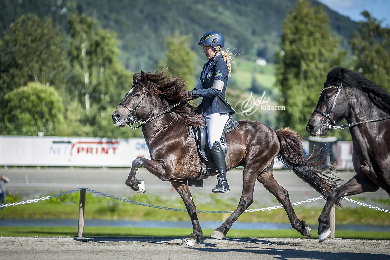 Mot seger i T1 Junior Foto: Sofie Lahtinen Carlsson