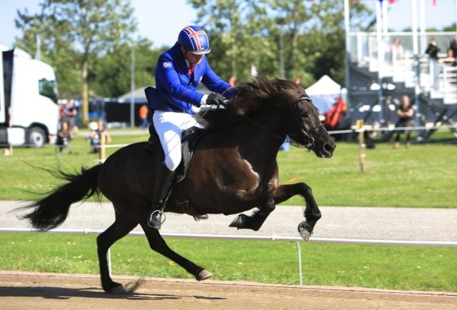 Garún in action! Foto: Ishestnews.se