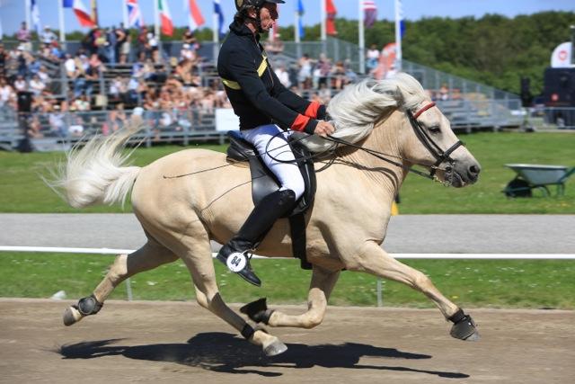 Helmut och Blöndal, Världsmästare 2015 Foto: Ishestnews.se