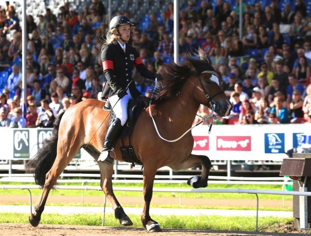 I ledning inför finalen, och ett brons till Johanna och Fönix Foto: Ishestnews.se