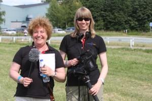 Yvonne och Karin är redo för Berlin! Foto: Ulrika Backan