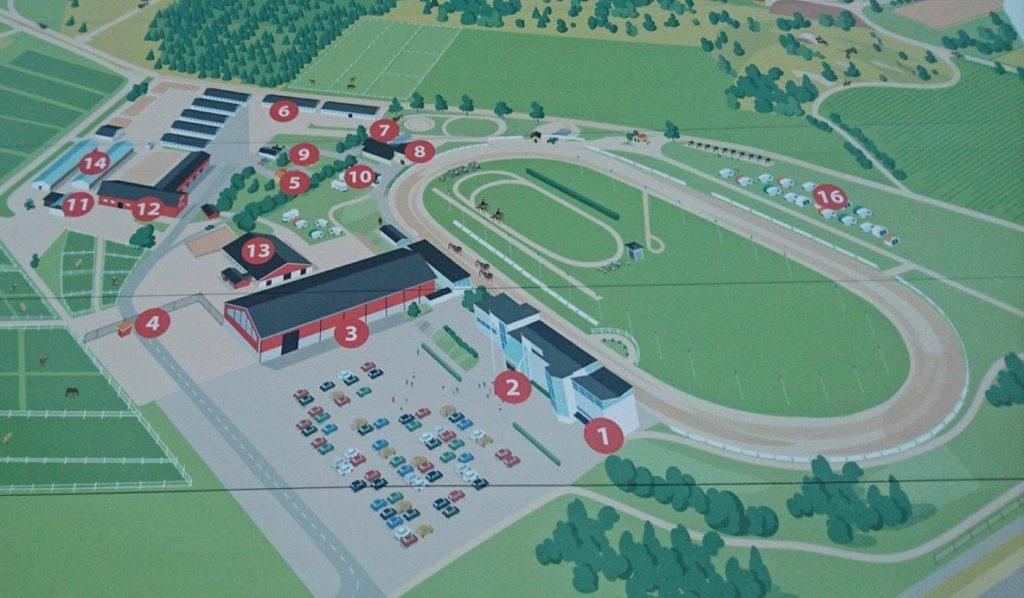 axevalla karta Dags för invigning av banor på Axevalla   IsHestNews.se axevalla karta
