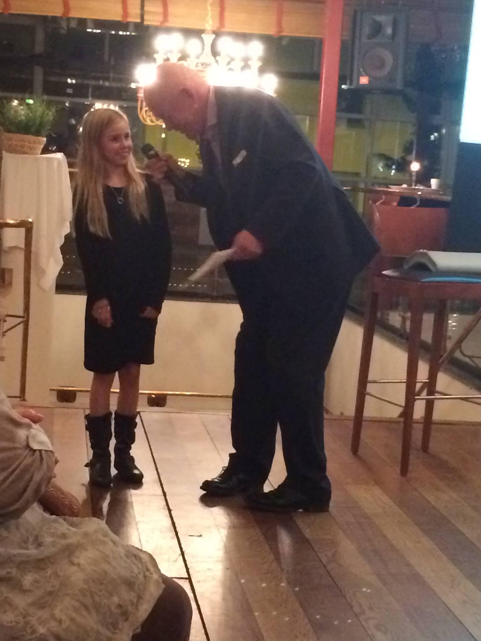 Klara Nydahl som blev årets Gaedingaryttare Barn Foto: Christina Rohdin-Alm