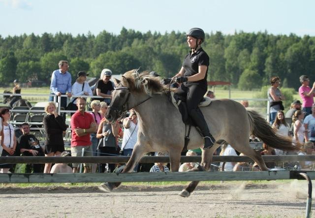 Svenska Mästarna Junior, Lisa och Flugar som även kom på 8:e plats bland alla. Foto: Karin Cederman/ishestnews.se