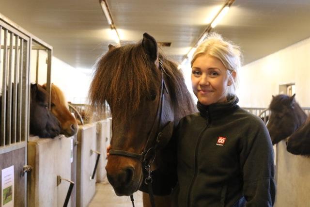 Lisa Lantz Cronqvist är en av stipendiaterna. Foto: Ishestnews.se