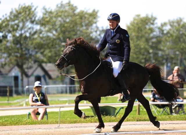 Magnus och Hraunar Foto: Ishestnews.se