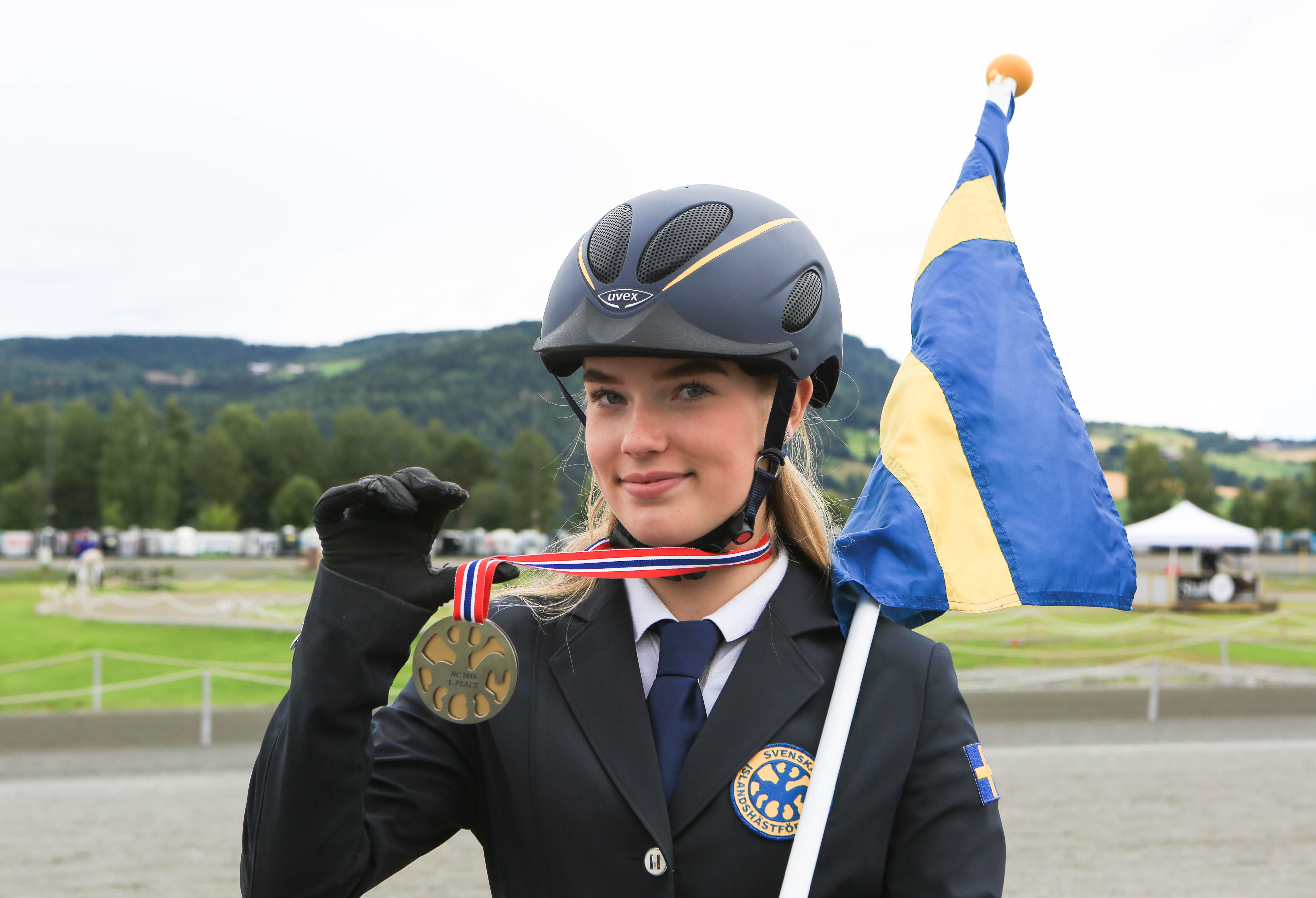 Guldmedaljen!