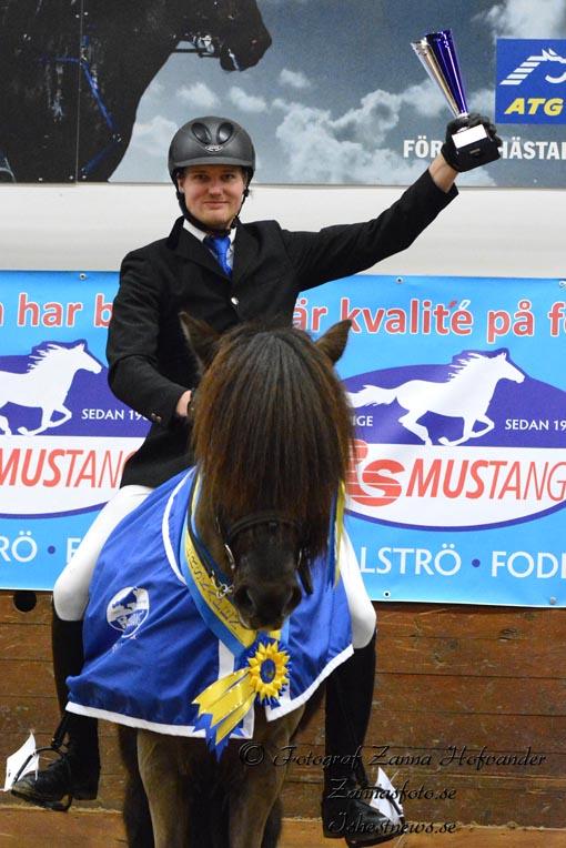 Micke Billow vann V2 Foto: Zanna Hofvander