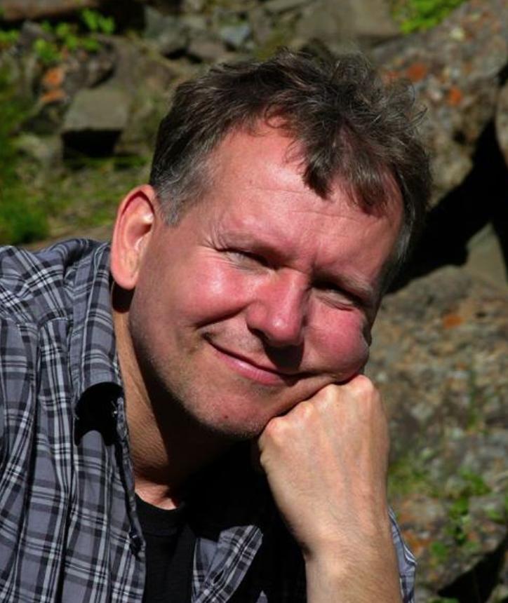 Författaren och fotografen Jens Einarsson