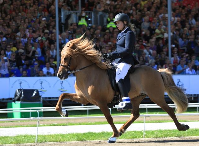 Katie och Smári. Bara bättre och bättre! Foto: Ishestnews.se