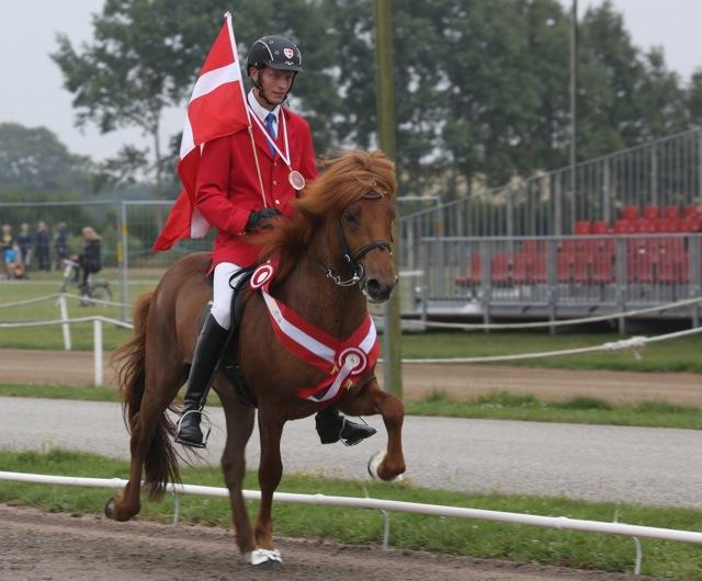 En värdig Nordisk Mästare! Foto: Yvonne Benzian/ishestnews.se
