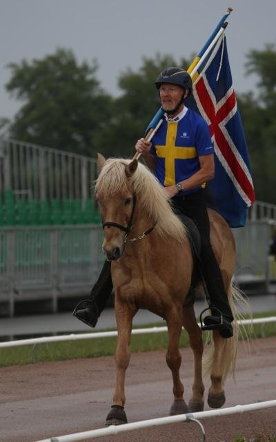 Thorvaldur och Thyrnir, här från NM i Herning. Foto: Ishestnews.se