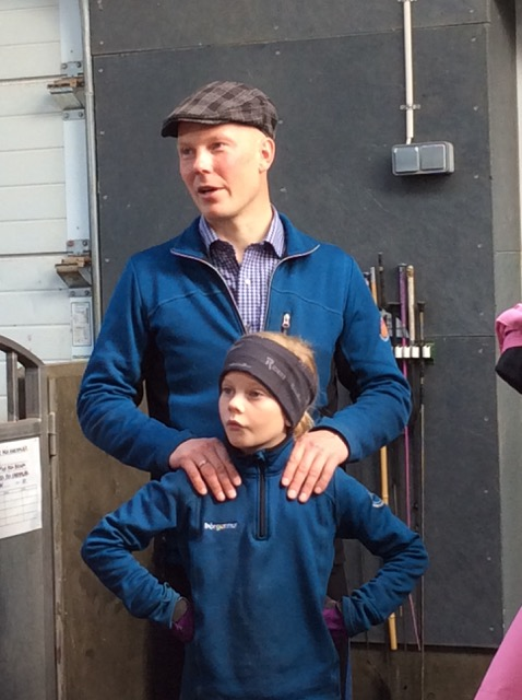 Toto med dotter Thorgunnur Foto: Änges Kristina Lundén