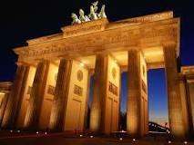 Brandenburger Tor är målet för stafettryttarna.