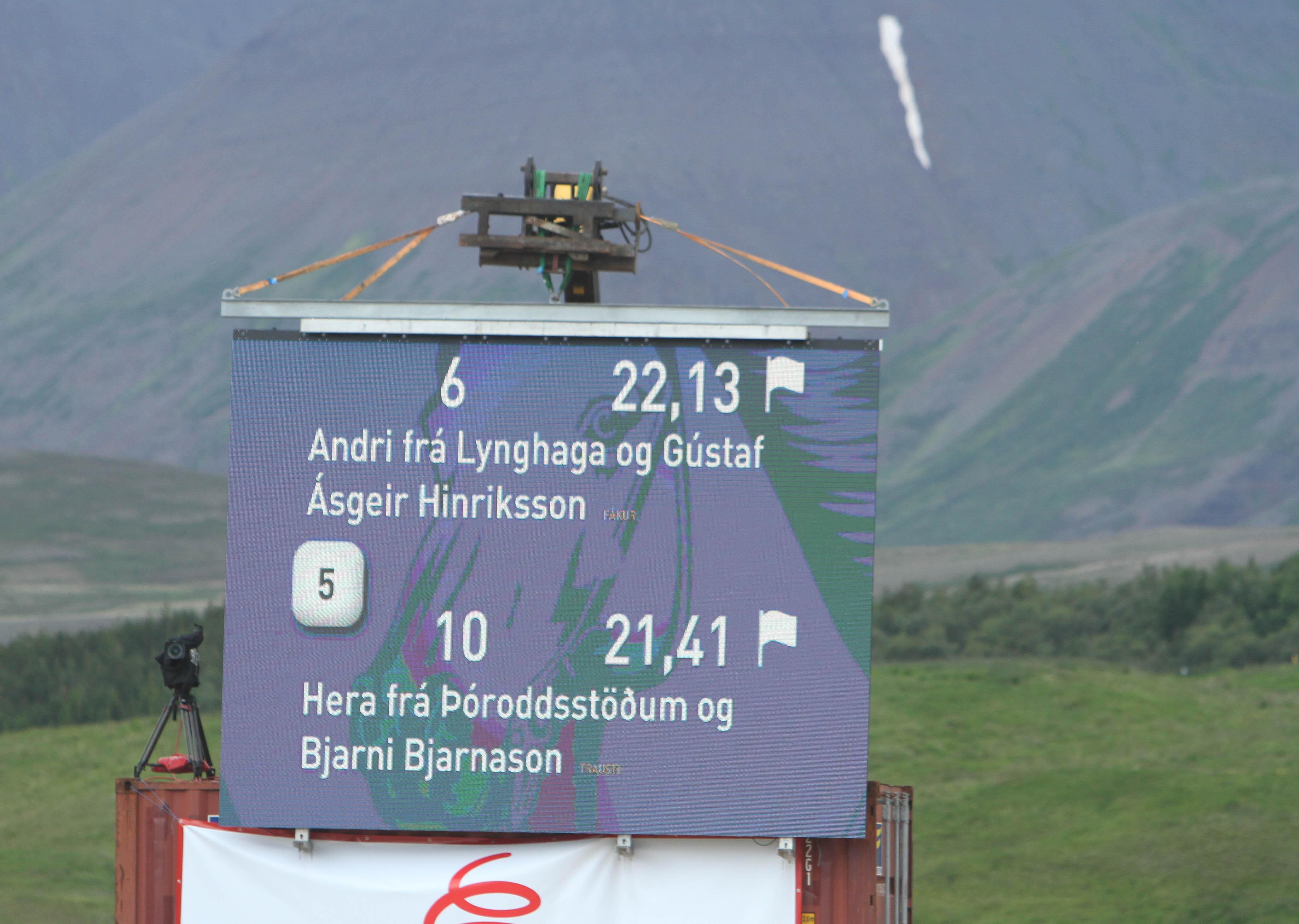 Hera did it! Foto: Karin Cederman(ishestnews.se