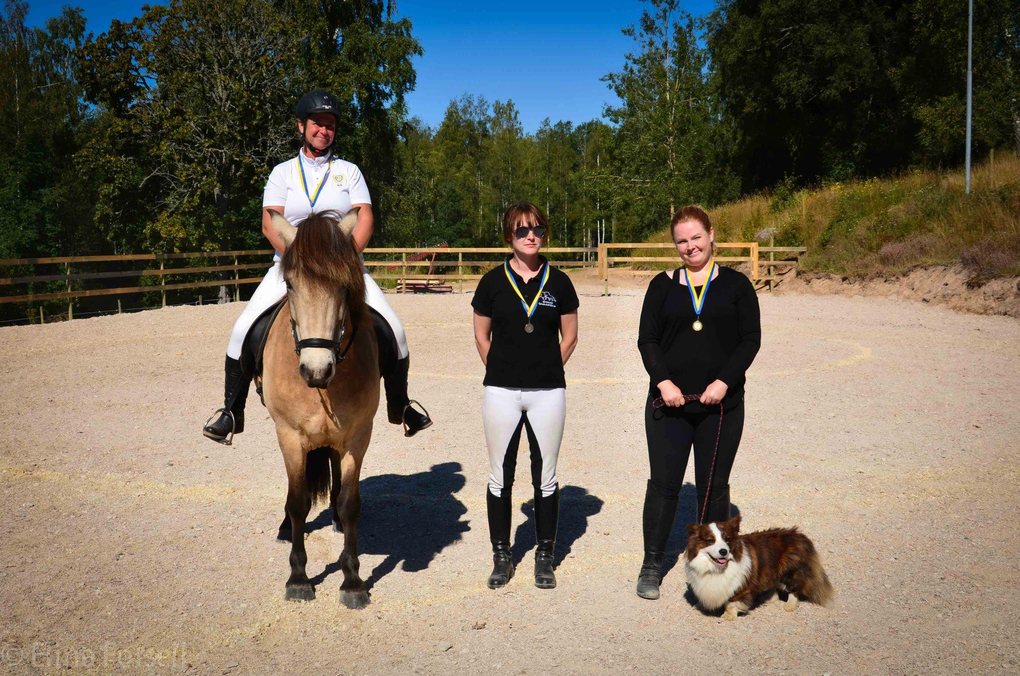 Vinnarna i TH1 Foto: Elina Forsell