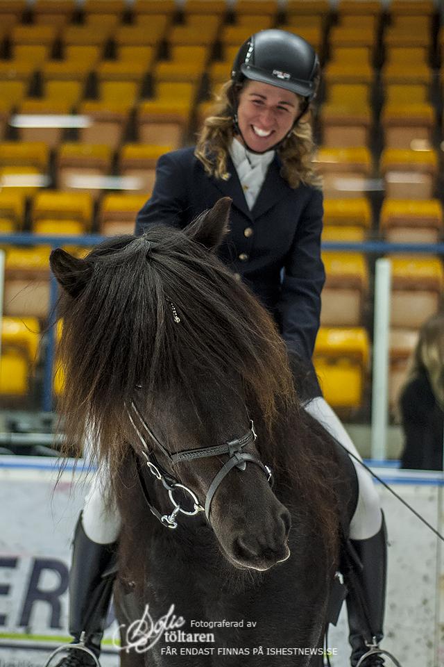 Linnea och Brodir är glada båda två! Foto: Sofie Lahtinen Carlsson