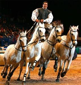 Lorenzo och hans spanska hästar
