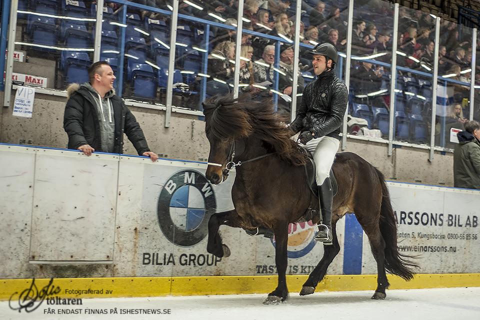 Robin och Baldur, på sjätte plats Foto: Sofie Lahtinen Carlsson