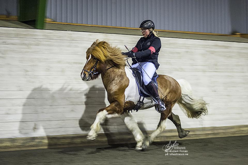 Vinnarna av F2, Stina Westberg Nyström och Brestur frá Lytingsstödum fick poängen 6,27